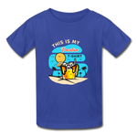 This Is My Vacation T-Shirt - Youth - royal blue
