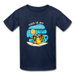 This Is My Vacation T-Shirt - Youth - navy