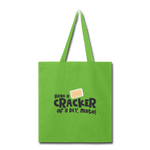 Have A Cracker - Tote Bag - lime green