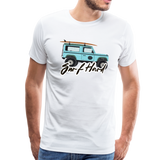 Surf Hard - Men's Premium T-Shirt - white