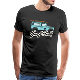 Surf Hard - Men's Premium T-Shirt - black