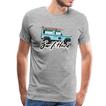 Surf Hard - Men's Premium T-Shirt - heather gray