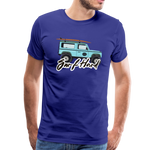 Surf Hard - Men's Premium T-Shirt - royal blue