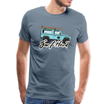 Surf Hard - Men's Premium T-Shirt - steel blue