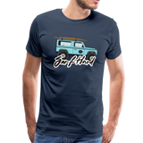 Surf Hard - Men's Premium T-Shirt - navy