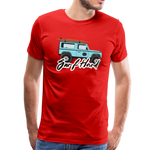 Surf Hard - Men's Premium T-Shirt - red
