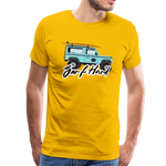 Surf Hard - Men's Premium T-Shirt - sun yellow