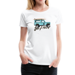 Surf Hard - Women's Premium T-Shirt - white