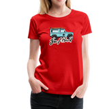 Surf Hard - Women's Premium T-Shirt - red
