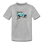 Surf Hard - Kids' Premium T-Shirt - heather gray