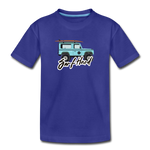 Surf Hard - Kids' Premium T-Shirt - royal blue