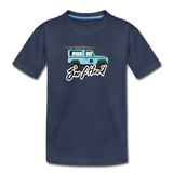 Surf Hard - Kids' Premium T-Shirt - navy