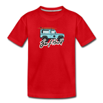 Surf Hard - Kids' Premium T-Shirt - red