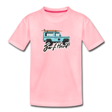 Surf Hard - Kids' Premium T-Shirt - pink