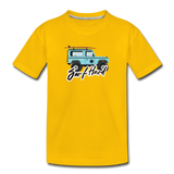 Surf Hard - Kids' Premium T-Shirt - sun yellow