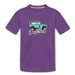 Surf Hard - Kids' Premium T-Shirt - purple