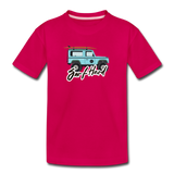 Surf Hard - Kids' Premium T-Shirt - dark pink