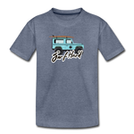 Surf Hard - Kids' Premium T-Shirt - heather blue