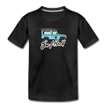 Surf Hard - Kids' Premium T-Shirt - charcoal gray