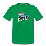 Surf Hard - Kids' Premium T-Shirt - kelly green