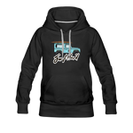 Surf Hard - Women's Premium Hoodie - black