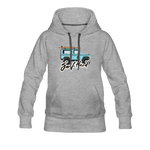 Surf Hard - Women's Premium Hoodie - heather gray
