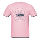 Sunshine -  Adult T-Shirt - light pink