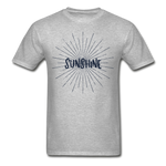 Sunshine -  Adult T-Shirt - heather gray