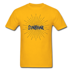 Sunshine -  Adult T-Shirt - gold