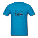 Sunshine -  Adult T-Shirt - turquoise