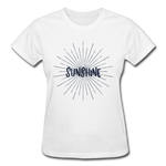 Sunshine -  Ladies T-Shirt - white