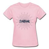 Sunshine -  Ladies T-Shirt - light pink