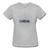 Sunshine -  Ladies T-Shirt - heather gray