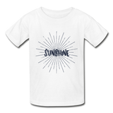 Sunshine -  Youth Tagless T-Shirt - white