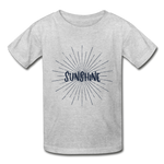 Sunshine -  Youth Tagless T-Shirt - heather gray
