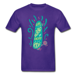 Enjoy The Ride - Adult Tagless T-Shirt - purple