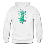 Enjoy The Ride - Heavy Blend Adult Hoodie - white