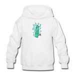 Enjoy The Ride -  Heavy Blend Youth Hoodie - white