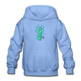 Enjoy The Ride -  Heavy Blend Youth Hoodie - carolina blue