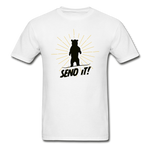 Send It - Tagless T-Shirt - white