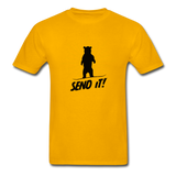 Send It - Tagless T-Shirt - gold