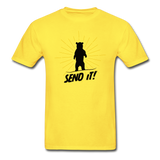 Send It - Tagless T-Shirt - yellow