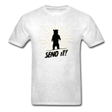 Send It - Tagless T-Shirt - light heather gray