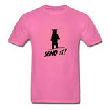 Send It - Tagless T-Shirt - hot pink