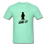 Send It - Tagless T-Shirt - deep mint
