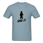 Send It - Tagless T-Shirt - stonewash blue