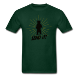 Send It - Tagless T-Shirt - forest green