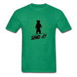 Send It - Tagless T-Shirt - kelly green