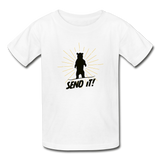 Send It! - Ultra Cotton Youth T-Shirt - white