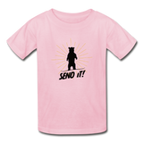 Send It! - Ultra Cotton Youth T-Shirt - light pink
